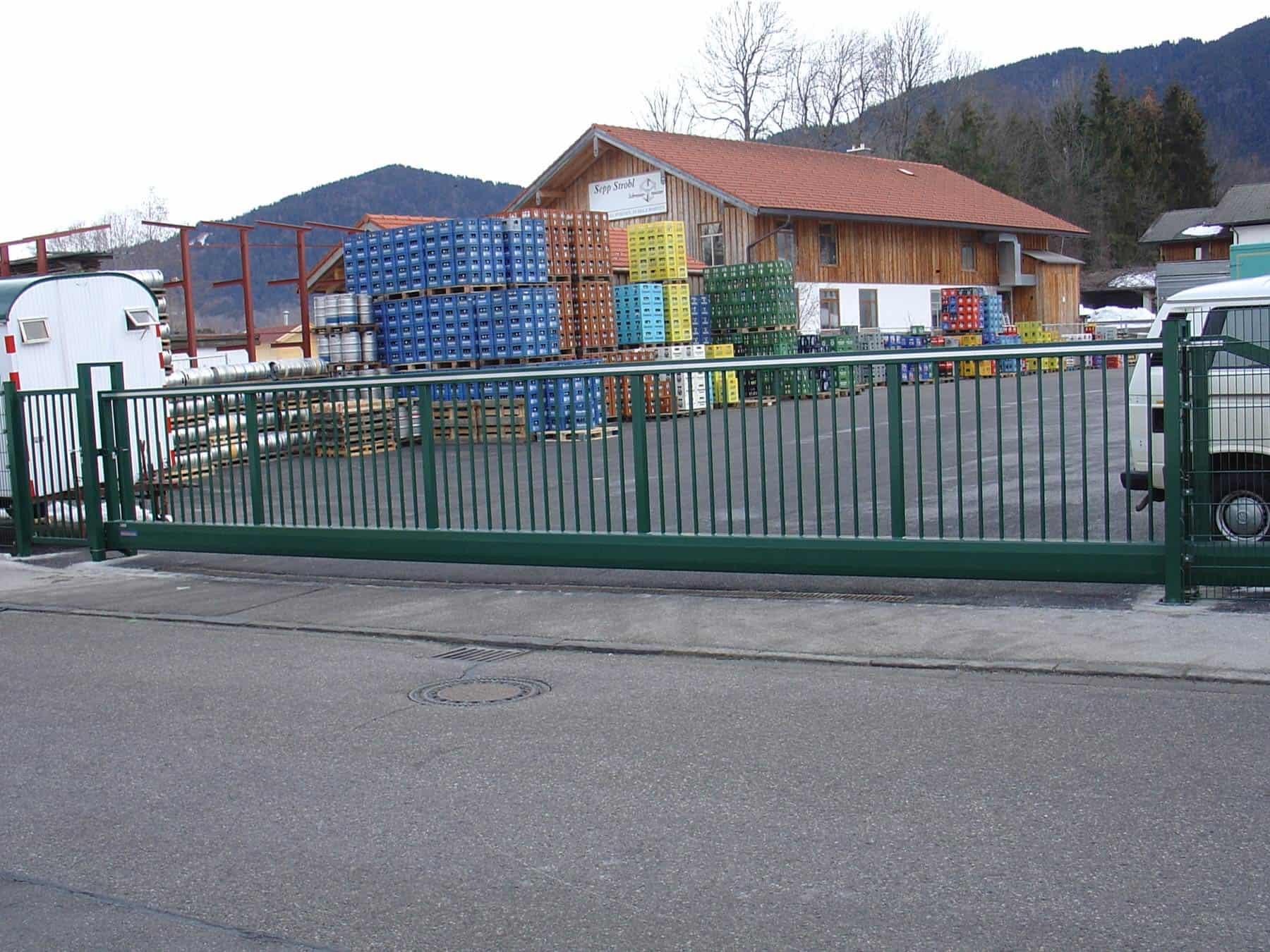 Schiebegatter in Südtirol